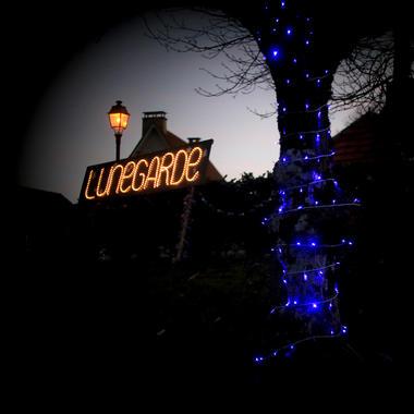 Illuminatiions de Noël à Lunegarde 2015 ©© Laurent Delfraissy 151225-173519