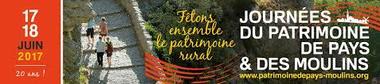 Journées Patrimoine de Pays et Moulins