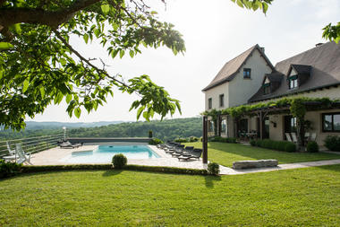La Villa Touloumo - Mayrac - Jardin et piscine - 1