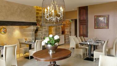 La salle du restaurant - La Bastidie - Noailhac