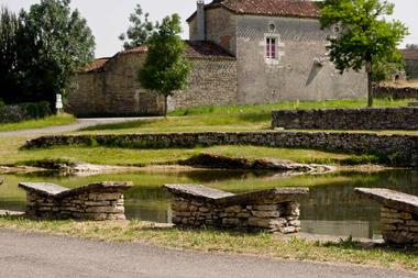Aujols - Lavoir Papillon
