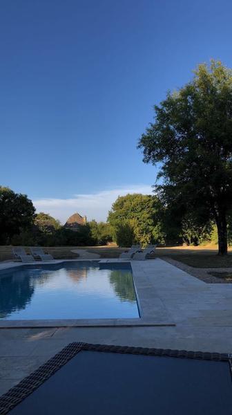 Le Mas de Tourel - la piscine
