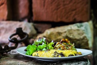 Le Cantou_Collonges_omelette