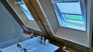 Le Rouchil Salle de bain à l'étage