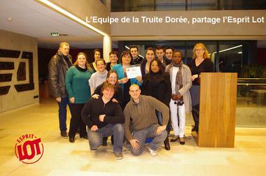 © Truite Dorée