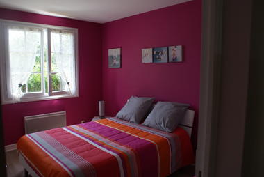 Location Moreau - Bretenoux - chambre