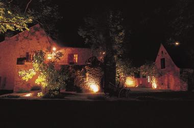 Le hameau la nuit