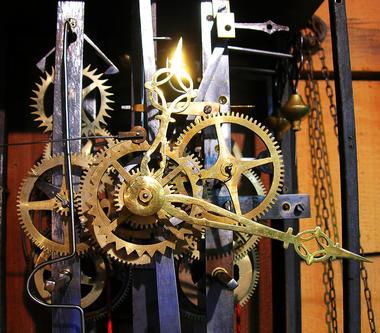 Musée des vieilles horloges - mécanime