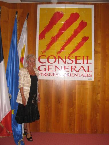 Nadine Velard-Huillet 8Panneau décoratif pour le Conseil Général des P.O
