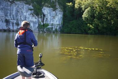 Sylvain Garza guide pêche