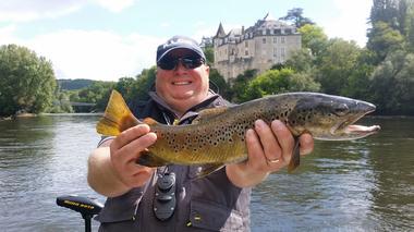Luc Matosevic - guide pêche Lanzac