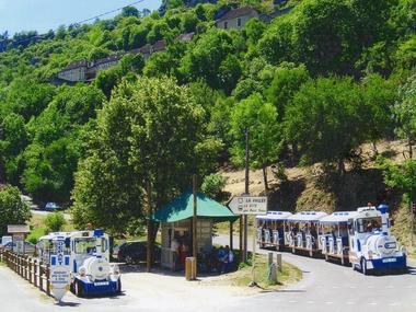 Petit Train Rocamadour - Parking