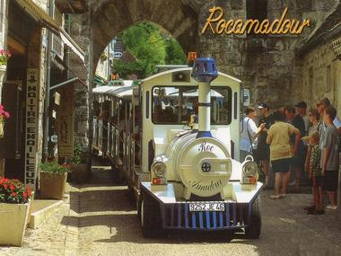 Petit Train Rocamadour - Traversée Cité