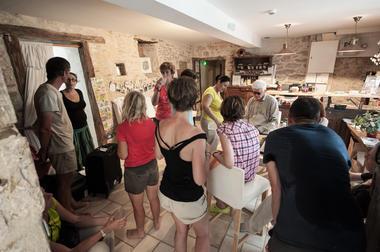 Pot d'arrivée - Gîte d'étape Poudally à Lalbenque_01 © Lot Tourisme - C. ORY