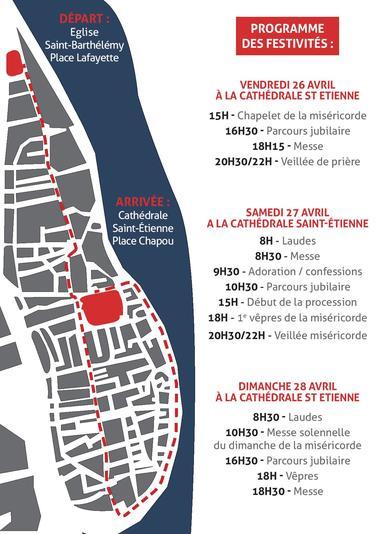 plan procession 27 avril