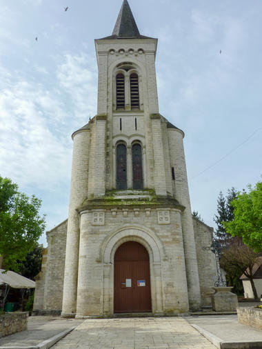 Saint-Sozy - Eglise du village © Lot Tourisme - C. Sanchez