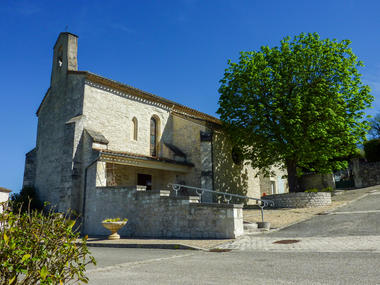 Sainte-Alauzie - Eglise © Lot Tourisme - C. Sanchez