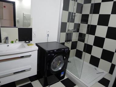 Salle de bain gîte