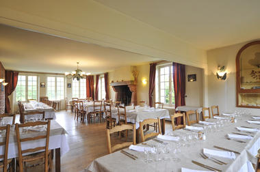 Salle du restaurant- Relais Saint Jacques - Collonges-la-Rouge