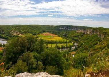 St-Géry - vue Panoramique sur le Lot _13 © Lot Tourisme - C. Sanchez