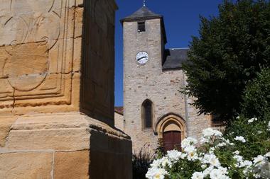 St Projet église fleurs