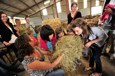 Visite à la ferme - Ferme de la Brebis bavarde à Albiac_08 © Lot Tourisme - C. ORY