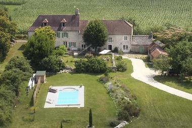 Vue aérienne La Bruyle
