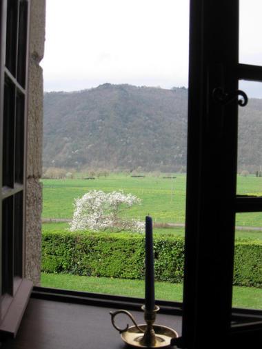 Vue depuis la chambre La Dordogne - Le Pradel - Monceaux-sur-Dordogne