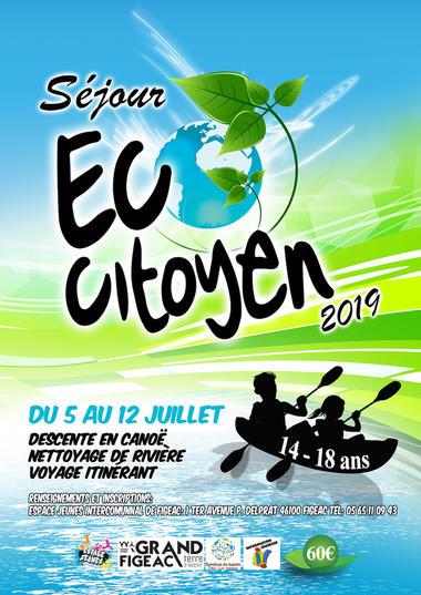 affiche eco citoyen 2019