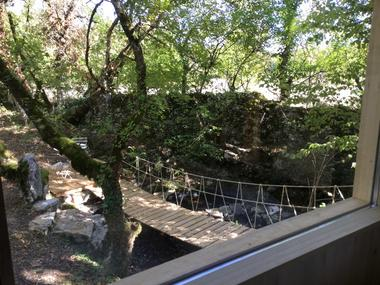 cabane-Lodge - vue chambre