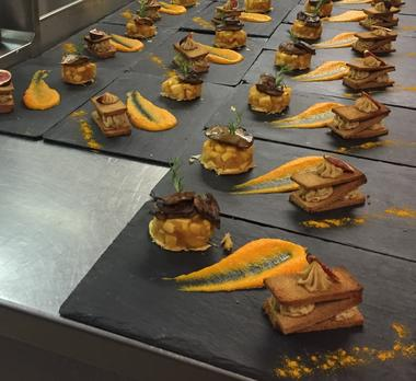 duo de foie gras chaud et froid
