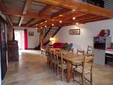 la pièce principale et la cuisine 44m²
