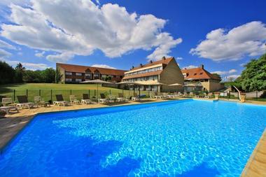 hôtel du château_rocamadour_piscine