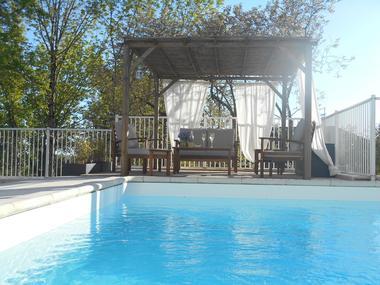 piscine pergola