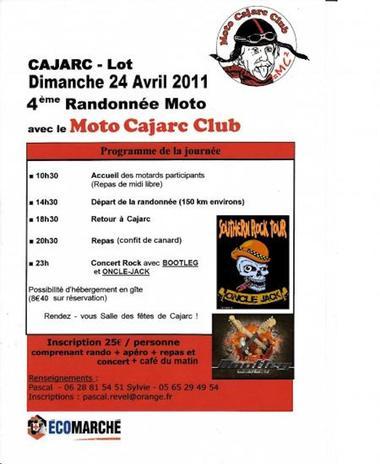 rando moto club Cajarc