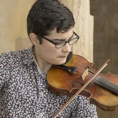 récital de violon-Frédérik Camacho