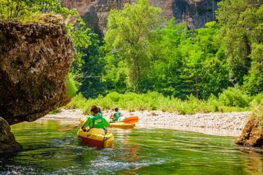 Canoe Mejean - Ste Enimie