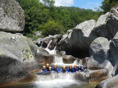 Canyon de Dourbie-Bains douches