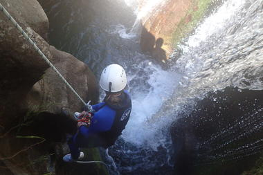 Canyon du Tapoul-le trou de serrure