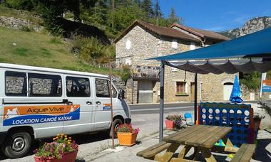 base d'Aigue Vive gorges du Tarn