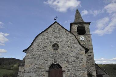 Eglise  Saint-Privat à Combret