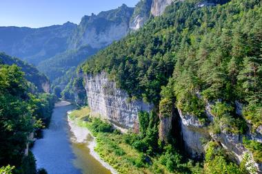 Falaises Gorges du Tarn