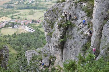 Via Ferrata - Liaucous