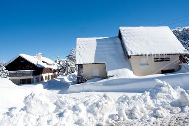 Maison de la vallée - Enneigée