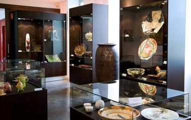 Maison de la Céramique, intérieur