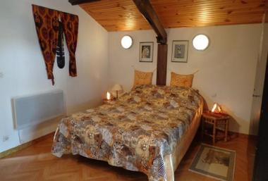 Millot - chambre africaine 3pers