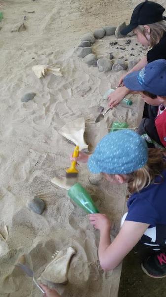 Atelier fouilles