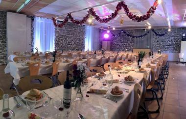 Auberge de la Vallée d'Ossau salle mariage2