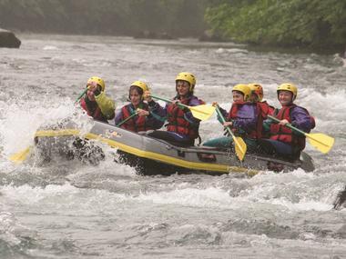 Aventure Chlorophylle photo rafting