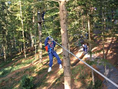 Aventure Parc - Tyrolienne